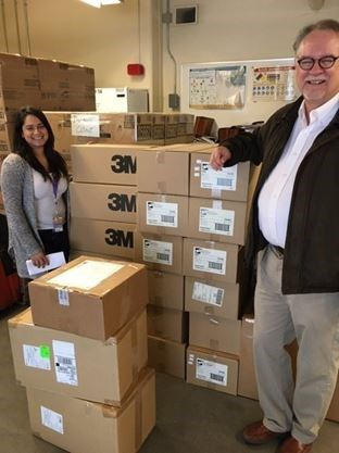 York University donates 3,000 N95 masks to Vaughan's Mackenzie, 1,000 gloves to Markham facility