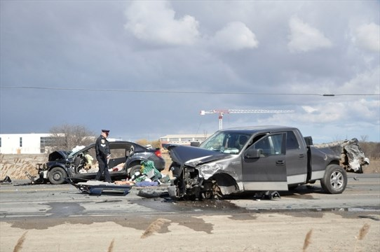 Air ambulances called for Hwy  50 crash | BramptonGuardian com