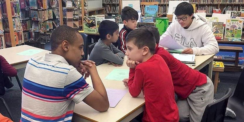 Reading program boosts skills for elementary and high school ...