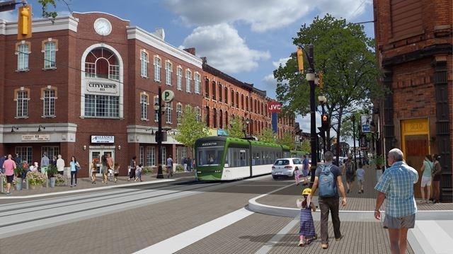 Hamilton plans LRT in downtown