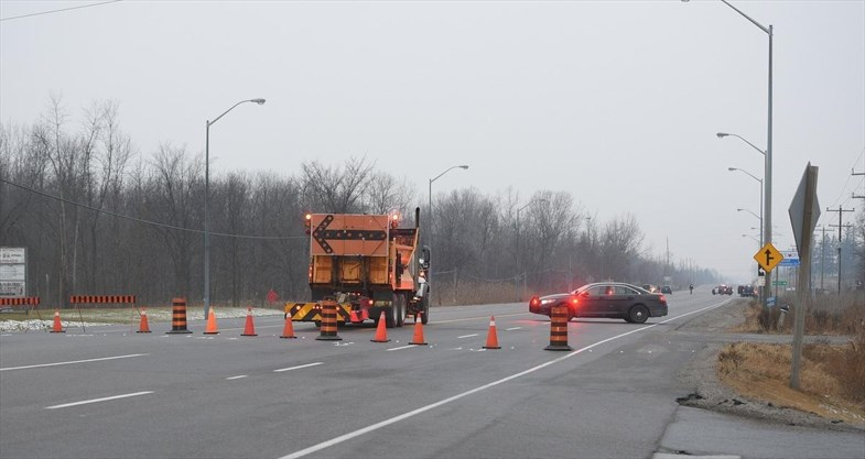 fatal accident on highway 6 early tuesday the stretch of highway between concession roads 7 and 8 will be closed most of the morning for investigation