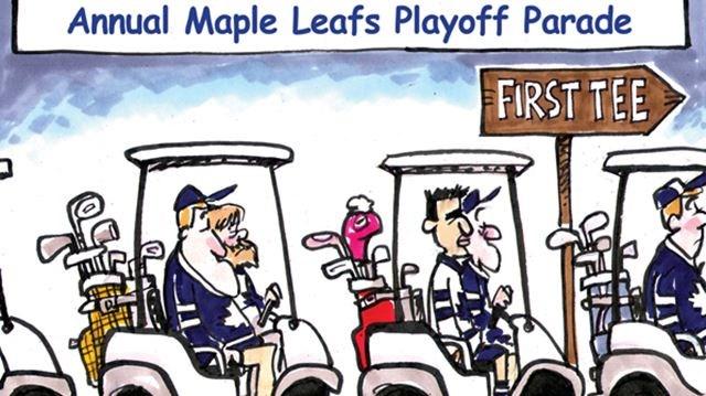 Opinion Today S Cartoon Leafs Parade Toronto Com
