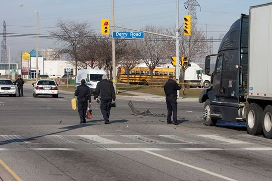 Update: Intersection of Hwy  10 and Derry reopens after