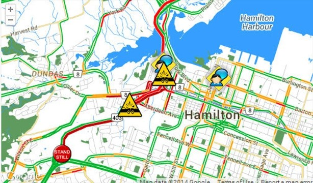 UPDATE: 403 open to traffic after being closed 10 hours from