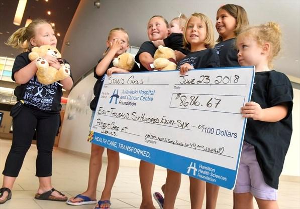 Dundas man's family raises more than $8,500 for Juravinski