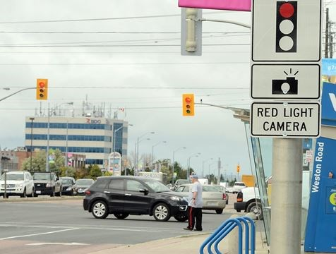 Attractive Red Light Cameras Back Up For Review In Barrie
