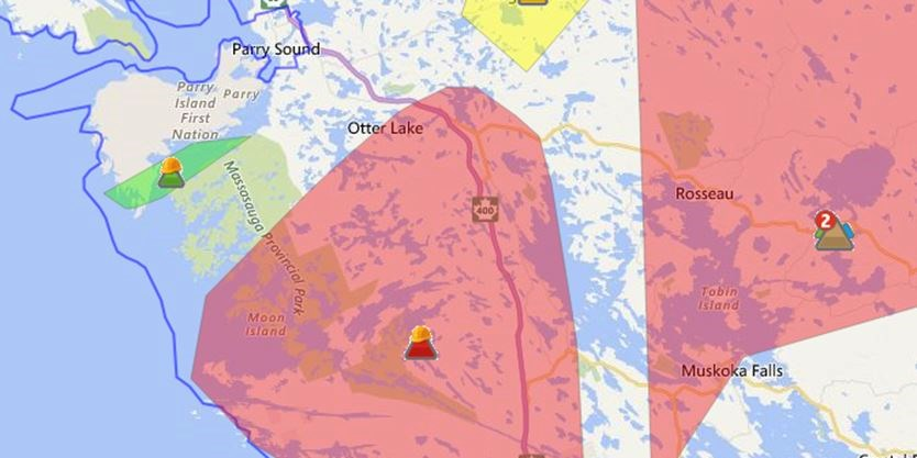 Update Power Back For Most In Parry Sound Area Parrysound Com