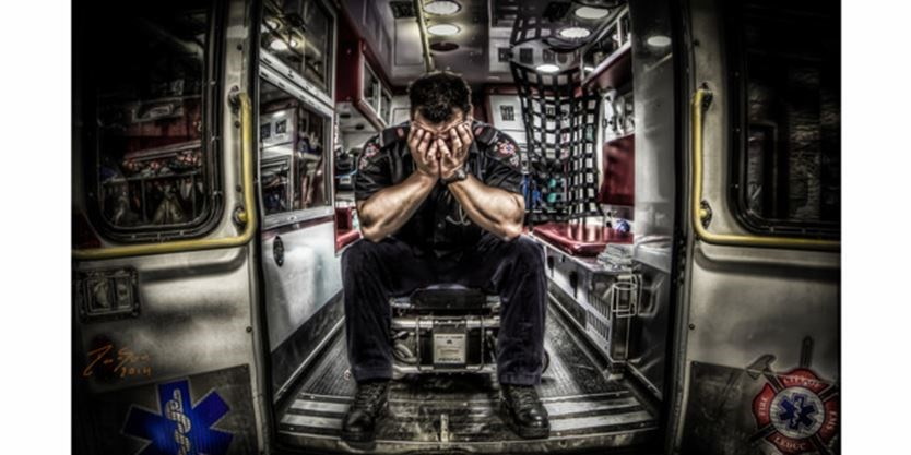 Artists in the Ambulance: Peel, York, Guelph, Toronto EMS headed on