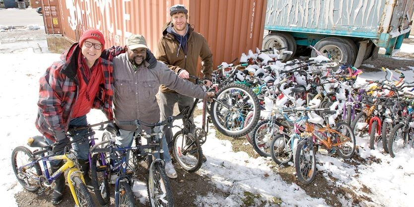 Africycle Marks Donation Of 10 000 Bicycles