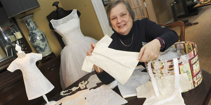 Oakville Woman Repurposes Wedding Dresses Into Angel Gowns