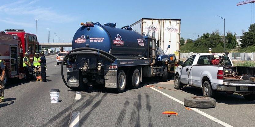 Pronounced dead': Crash kills 1 man, shuts down large