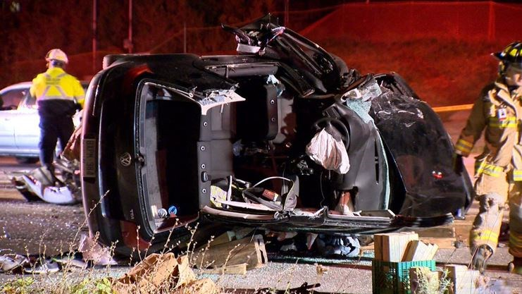 Six taken to hospital after multi-vehicle crash in Vaughan