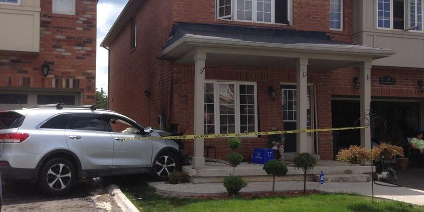 Update Teen Suspected Of Slamming Stolen Suv Into Brampton House