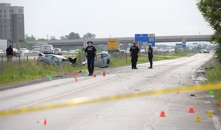 Hamilton man charged in fatal rear-end crash on South