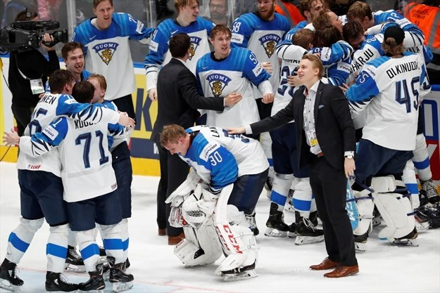 Finland Defeats Canada For Gold Medal At Hockey World Championship