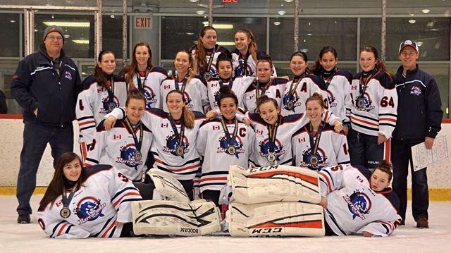 Burlington midget hockey girls