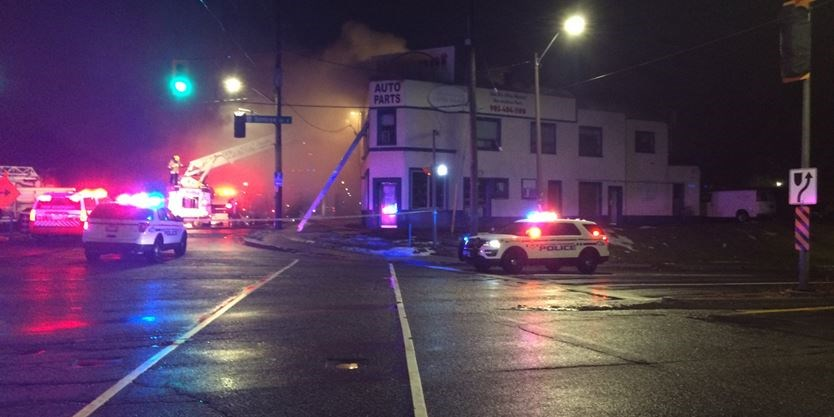 Update Tenants Escape No Injuries Reported After Fire At Auto Parts