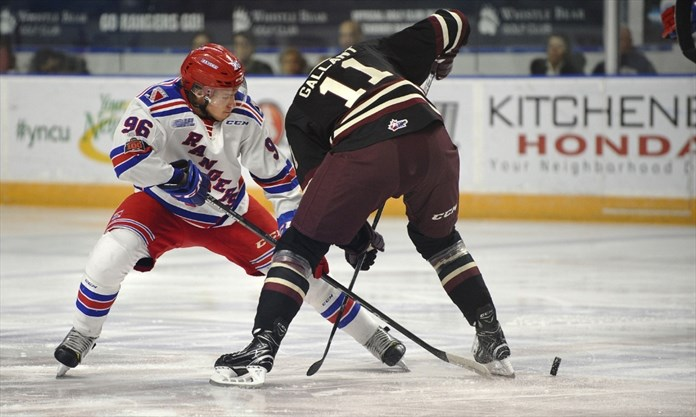 OHL: Rangers On A Roll As Club Wins Its Fourth Straight