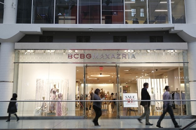 BCBG Max Azria to shut down stores in Canada, files for