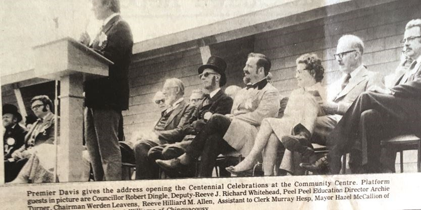 The war and a big memorable year. Centennial Celebration