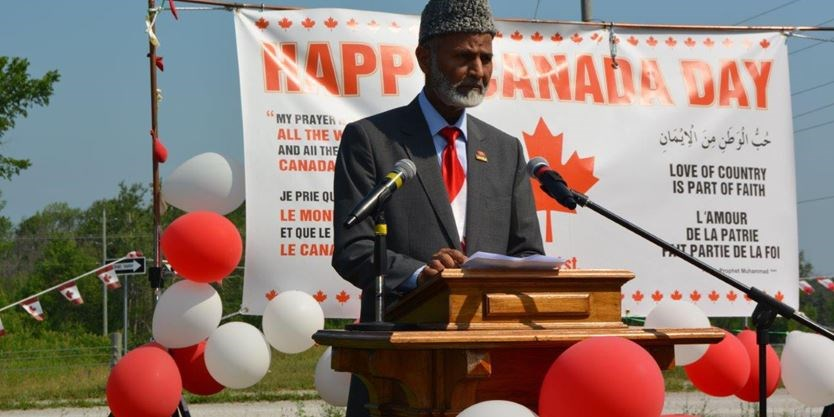 Canada Day at Maryam Mosque