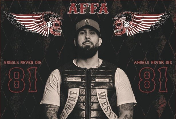Hundreds of Hells Angels expected for murdered biker's