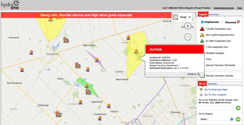 Is Your Power Out In Caledon Caledonenterprise Com