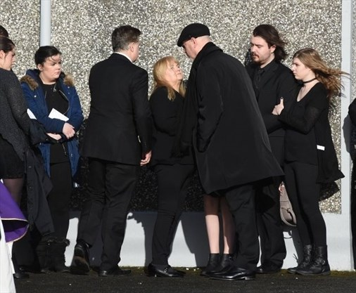 Bandmates Family Attend Funeral Of Cranberries Singer Dolores O