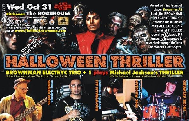 Brownman S Halloween Thriller Kitchener Michael Jackson As