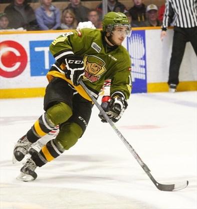 43e24337e6fe Concussion-like symptoms force Lindsay native Zach Bratina to retire from  OHL s North Bay Battalion at age 19