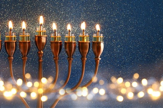 millions of people of both christian and jewish faiths will be lighting candles together as the start of hanukkah and christmas fall on the same day this - What Day Does Christmas Fall On
