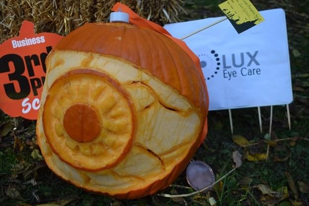Great Pumpkin Stroll Brings Scary Creative Funny Pumpkin Displays