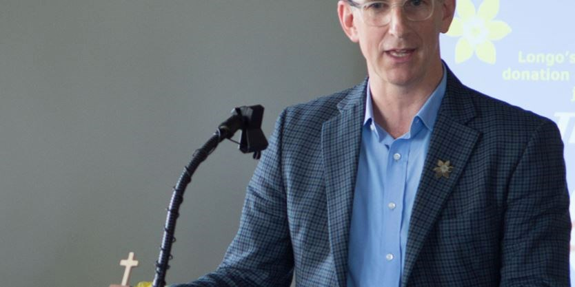 Cancer Society Ontario official speaks to upcoming merger while in Oakville