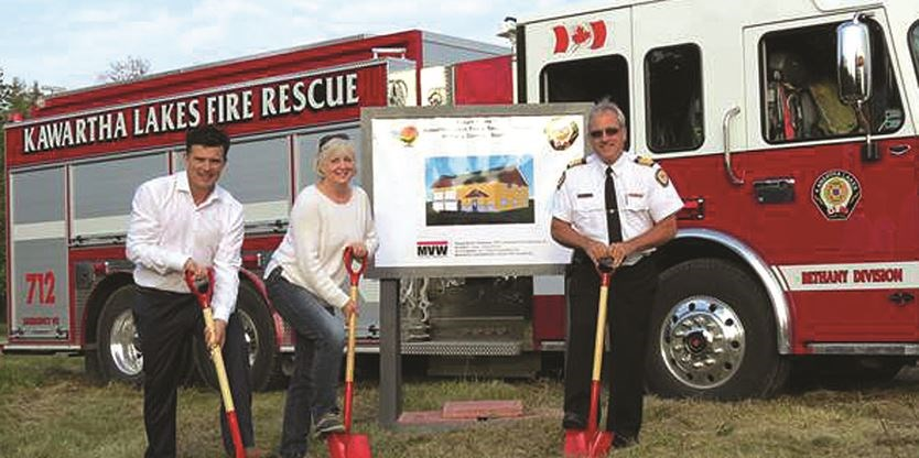 Ground breaking for new Bethany fire hall