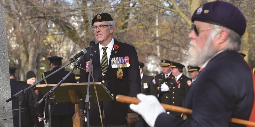 Remembrance Day in Lindsay (6)