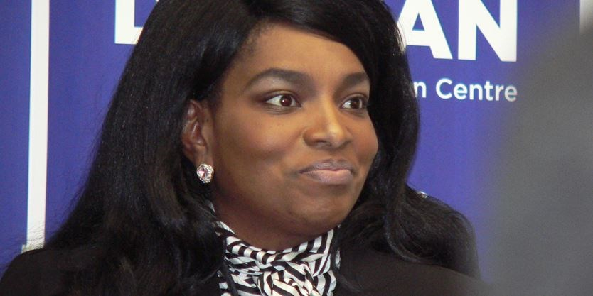 Hamilton Centre provincial Tory candidate Dionne Duncan