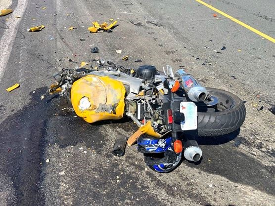UPDATE: Motorcyclist, 38, dead following crash on Hwy  407