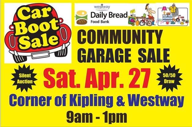 Spring Community Car Boot Garage Sale at Westway Christian Church on