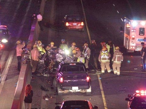 Man killed in 401 crash | DurhamRegion com
