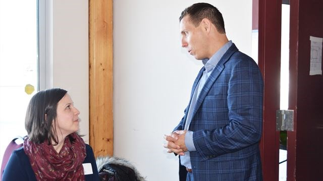 Patrick Brown serves up high praise to Parry Sound-Muskoka riding