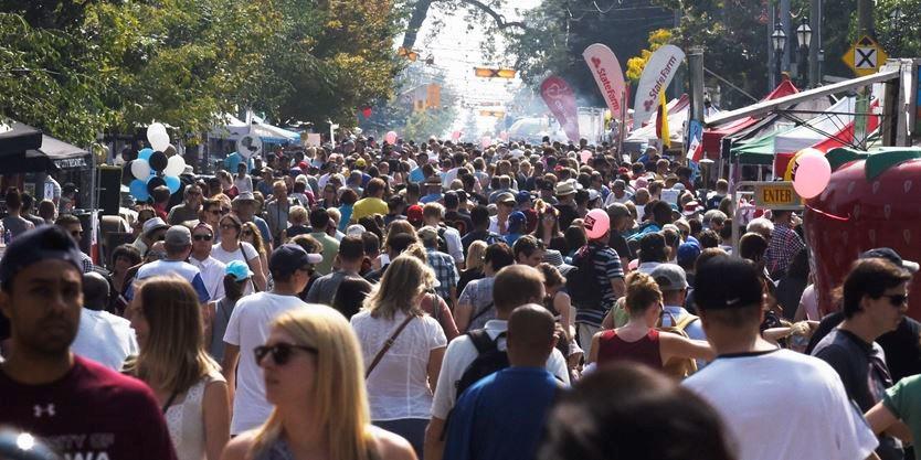 Image result for roncesvalles polish festival