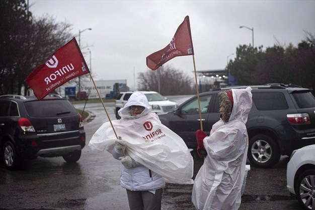 Unifor Engaged In Unlawful Strikes At Gm Oshawa Two Other Auto