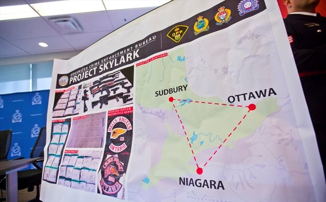 Three Niagarans arrested in provincewide biker bust