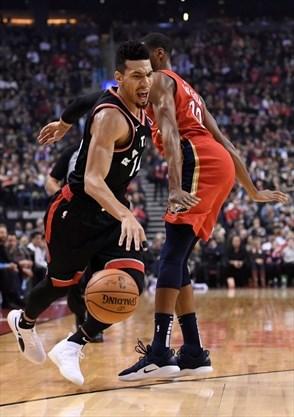 New Orleans Pelicans down Raptors, end Toronto's perfect