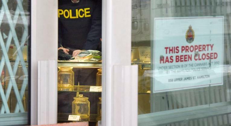 Busted again: Six Nations police raid Georgia Peach's latest attempt