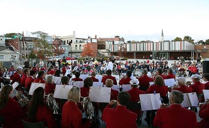 Music In The Park Newmarket Citizens Band On August 12 2018