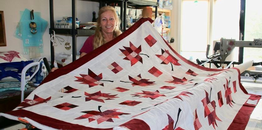 Block-by-block: Building quilts for each Canada war veteran in ... : quilts canada - Adamdwight.com