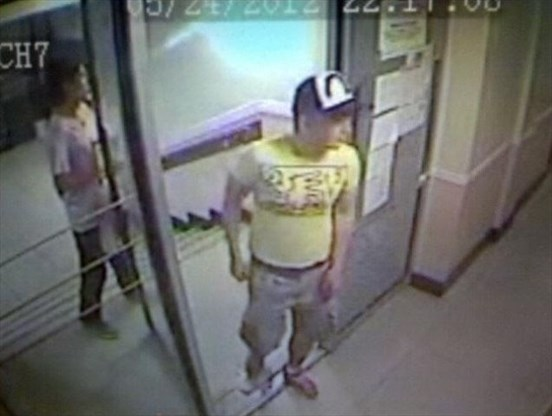 Surveillance Camera Footage From The Montreal Apartment Building Shows Luka Rocco Magnotta Formerly Of Lindsay And Who Has Family In Peterborough