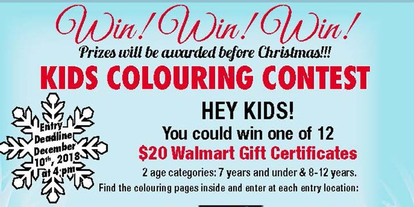 Parry Sound North Star\'s Kids\' Holiday Colouring Contest 2018 ...