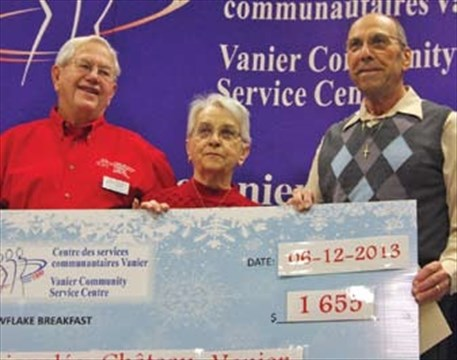 Vanier hosts annual Snowflake Breakfast